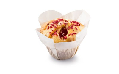 Raspberry Yoghurt Muffin